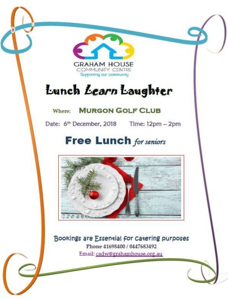 Lunch, Learn & Laughter