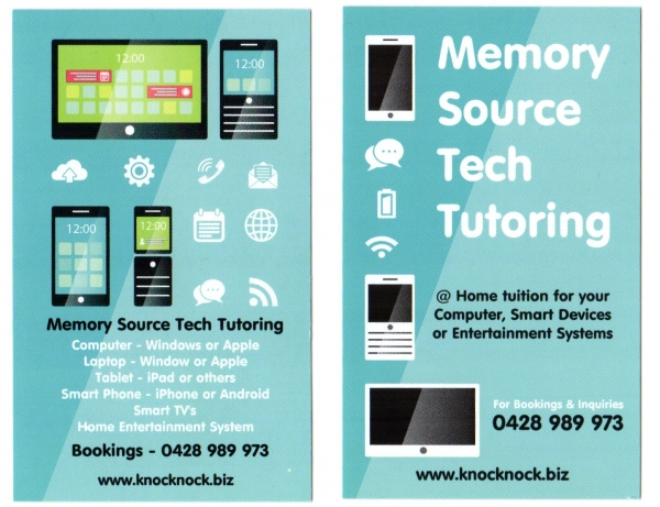 Modern Technology Tutoring & Support