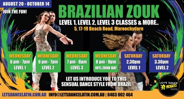 Learn to Dance Brazilian Zouk