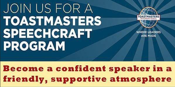 Speechcraft Course for Public Speaking