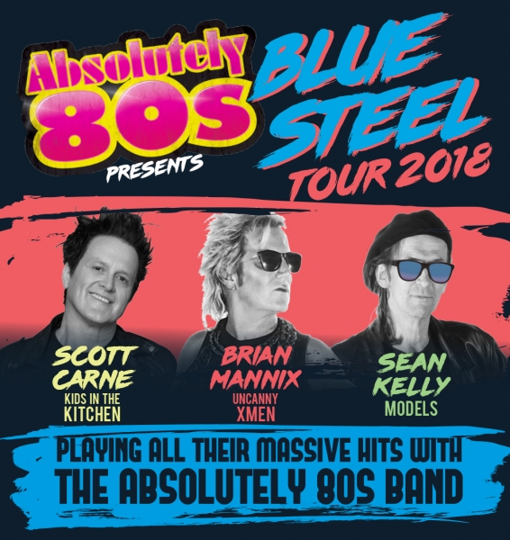 Absolutely 80s Band - Blue Steel Tour - The Imperial Hotel