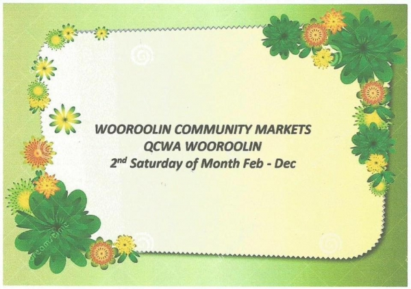 Wooroolin Community Markets