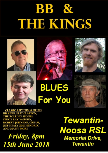 BB & The Kings at Tewantin Noosa RSL