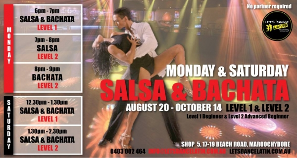 Learn to Dance Salsa & Bachata
