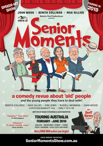 'senior Moments' Theatrical Comedy Revue