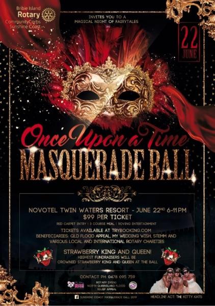 Sunshine Coast Masquerade Ball 2019