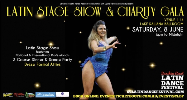 Latin Stage Show & Charity Gala