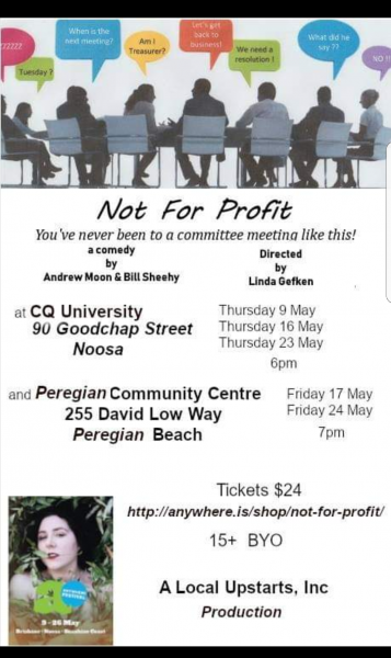 Not For Profit...play By Local Upstarts