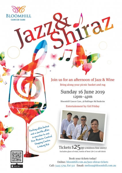 Jazz And Shiraz - Girl Friday Band