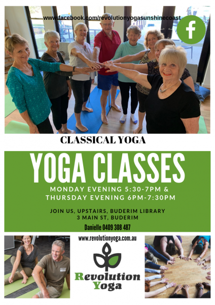 Buderim Yoga Classes