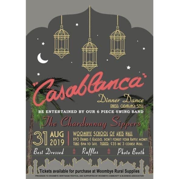 Casablanca Dinner Dance