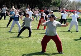 Basic tai chi class February 2018